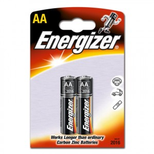 Щелочные батарейки Energizer Plus АА, (2шт.)